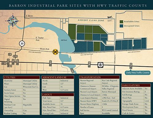 Industrial Park Map - 500 x 386
